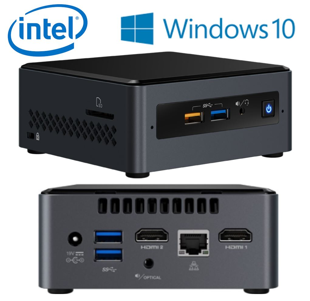 Intel, NUC7CJYSAL4, MINI, PC, DESKTOP, W10H,