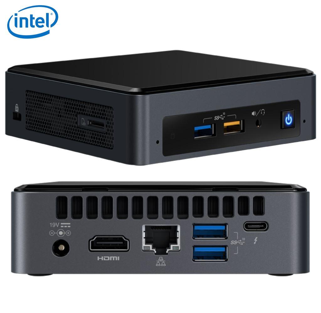INTEL, NUC, BABY, CANYON, NUC7i3BNK, HDMI/M-DP/USB3/M2, DDR4, GBE,