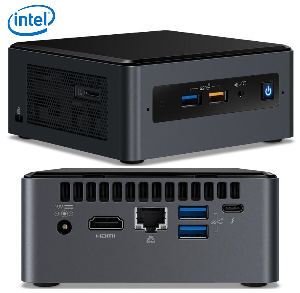 Intel, NUC, MINI, PC, I5-8259U, 4GB, 16GB, 1TB, W10H,