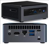 Intel, NUC, mini, PC, i3-10110U, 4.1GHz, 2xDDR4, SODIMM, 2.5, HDD, M.2, PCIe, SSD, HDMI, USB-C, (DP1.2), 3xDisplays, GbE, LAN, WiFi, BT, 6xU,