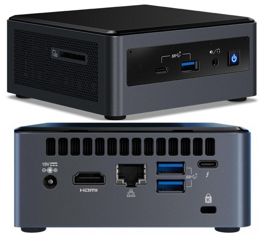 Intel, NUC, FROST, CANYON, BXNUC10i5FNH4,