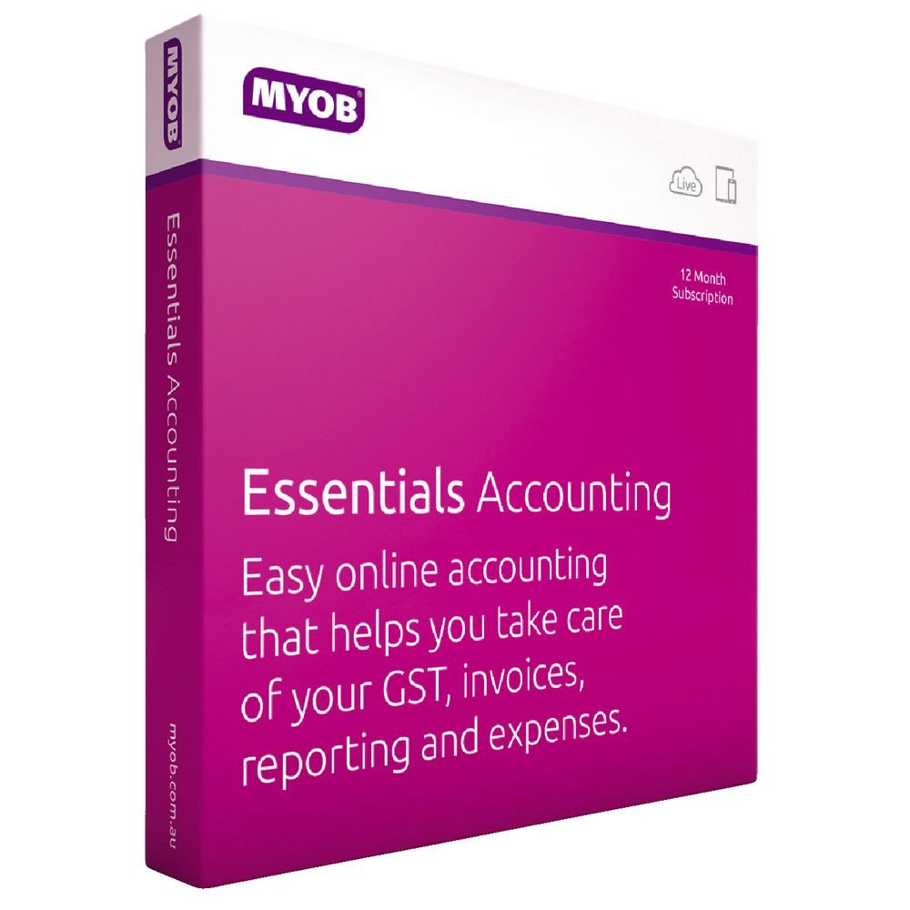 MYOB, Essentials, Accounting, with, Payroll, 3, Months, Test, Drive,