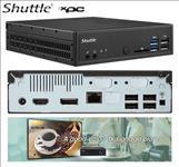 Shuttle, DH110SE, XPC, Slim, 1.3L, Barebone, -, H110, LGA1151, 2x, DDR4, 1x, 2.5, 2x, M.2, 4K, Dual, Display, DP+HDMI, 2x, USB3.0+6x,