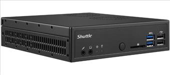Shuttle, DH310V2, XPC, Slim, 1.3L, Barebone, -, H310, LGA1151v2, 2x, DDR4, 1x, 2.5, 1x, M.2, 4K, Dual, Display, DP+HDMI, 2x, RS232,
