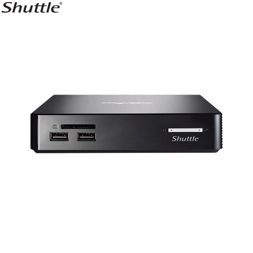 Shuttle, NS02E, XPC, Nano, 0.57L, NUC, -, RK3368, Octa, Core, 2GB, RAM, 16GB, eMMC, 1x, 2.5, Bay, 1x, 10/100, LAN, WL-N, +, BT4.0, VESA,