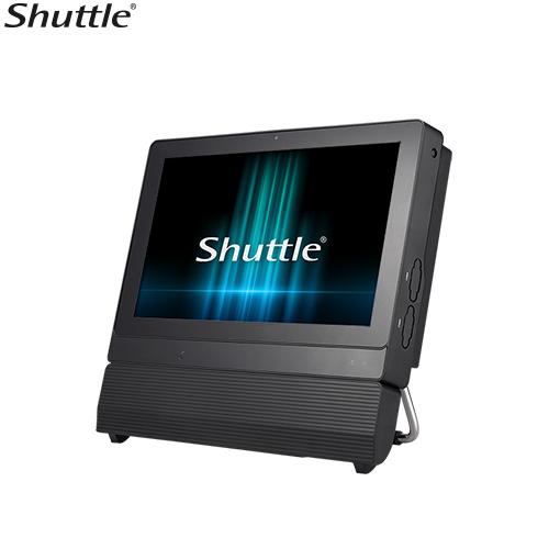 Shuttle, P20U, XPC, AIO, Fanless, Barebone, -, 11.6, Touch, IP54, Celeron, 3865U, DDR4, SODIMM, 2.5, HDD, D-SUB/HDMI, 1, Giga, LAN,