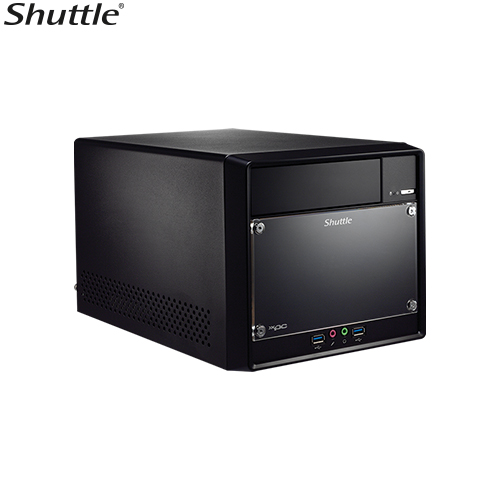 Shuttle, SH310R4V2, XPC, Cube, Performance, Barebone, -, H310, S1151, 2x, DDR4, 2x, 3, 5, HDD, 1x, 5.25, ODD, bay, M.2, 2280, PCIe, x16/,