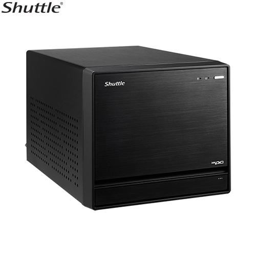 Shuttle, SZ270R8, XPC, Cube, -, 4K, UHD, 3xDisplays, Z270, LGA1151, 4xDDR4, HDM, 2xDP, 1xPCIex16, 3xM.2, 4x3.5, HDD, RAID, Dual, Intel, GbE,