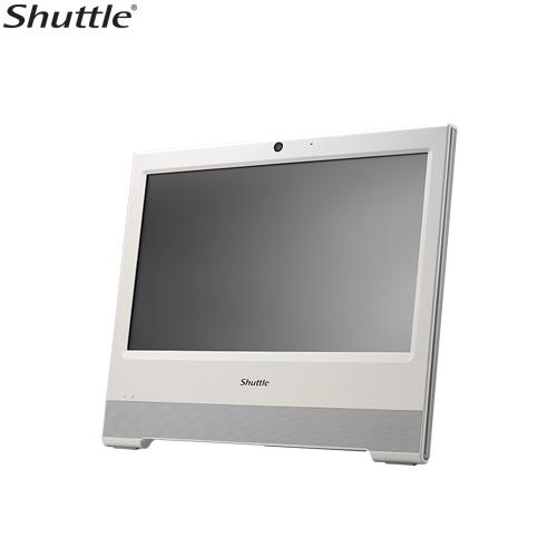 Shuttle, X50V6, XPC, AIO, Fanless, Barebone, -, 15.6, Touch, IP54, Celeron, 3865U, DDR4, SODIMM, 2.5, HDD, VGA/HDMI, 1, Giga, LAN,