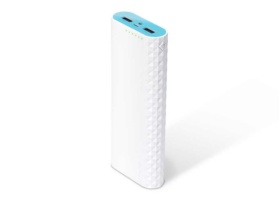 TP-Link, TL-PB15600, 15600mAh, High, Capacity, Power, Bank, Dual, Output, Ultra, Fast, Charging, LED, Flashlight, iPhone, Android, Windo,