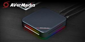 AVerMedia, GC555, LIVE, Gamer, BOLT, video, Capure, Box, 4Kp60, HDR, and, FHD, 240FPS, RGB, Lighting, ETA, May,