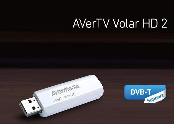 AVerMedia, TD110, TV, Tuner, DVBT, USB, 2.0, Remote, High-Gain, Antenna., Live, 3D, TV, Viewing,
