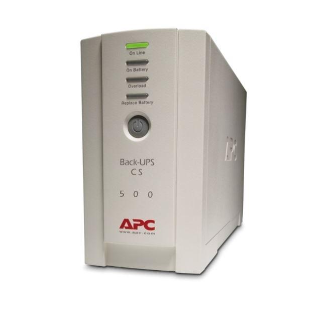 APC, BACK-UPS, CS, 500VA, 230V, USB/SERIAL,