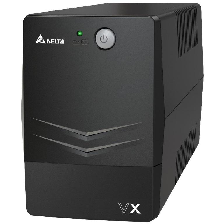 Delta, VX, Series, Line, Interactive, 600VA/360W, UPS, (Tower), 2, AU, ports,