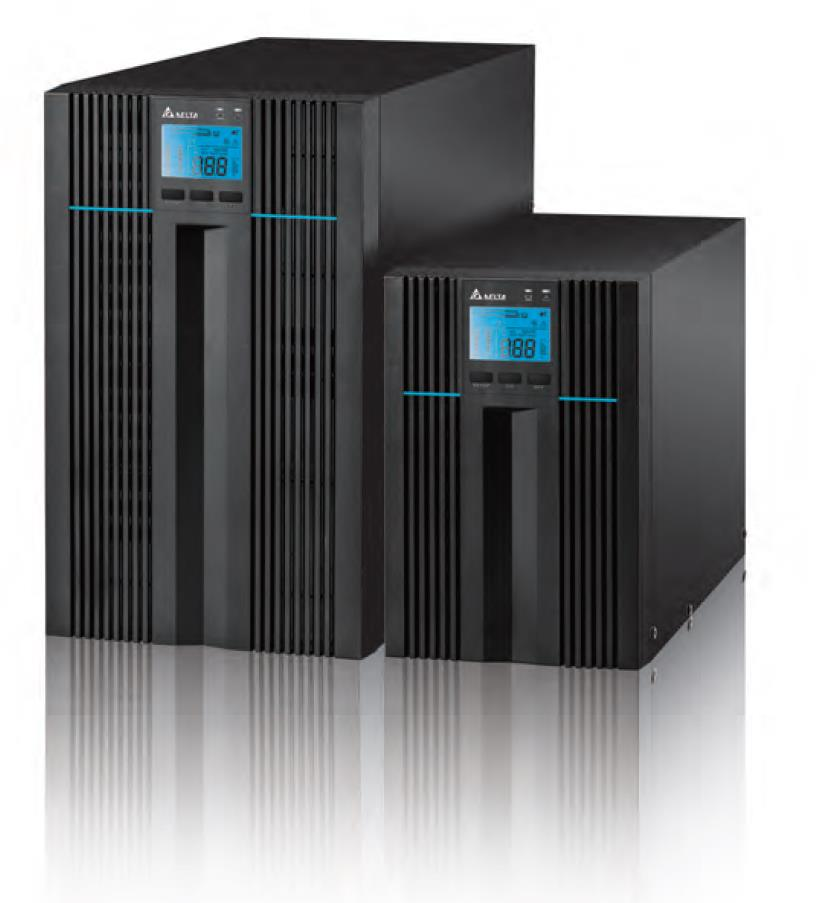 Delta, N-Series, Pro, On-Line, 2kVA/1.8kW, UPS, (Tower),