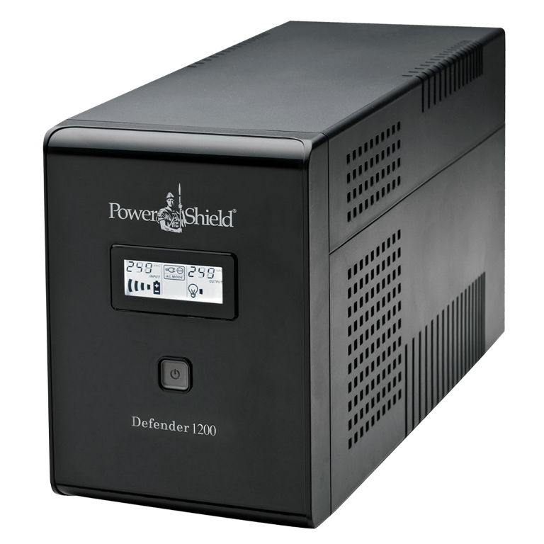 PowerShield, Defender, 1200VA, /, 720W, Line, Interactive, UPS, with, AVR, Australian, Outlets, and, user, replaceable, batteries, -,