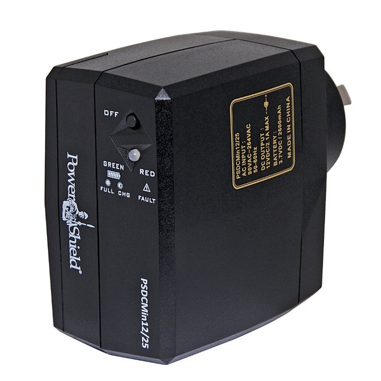 PowerShield, DC, Mini, 12V, DC, 18W, (1.5A), Plug, Pack, UPS,