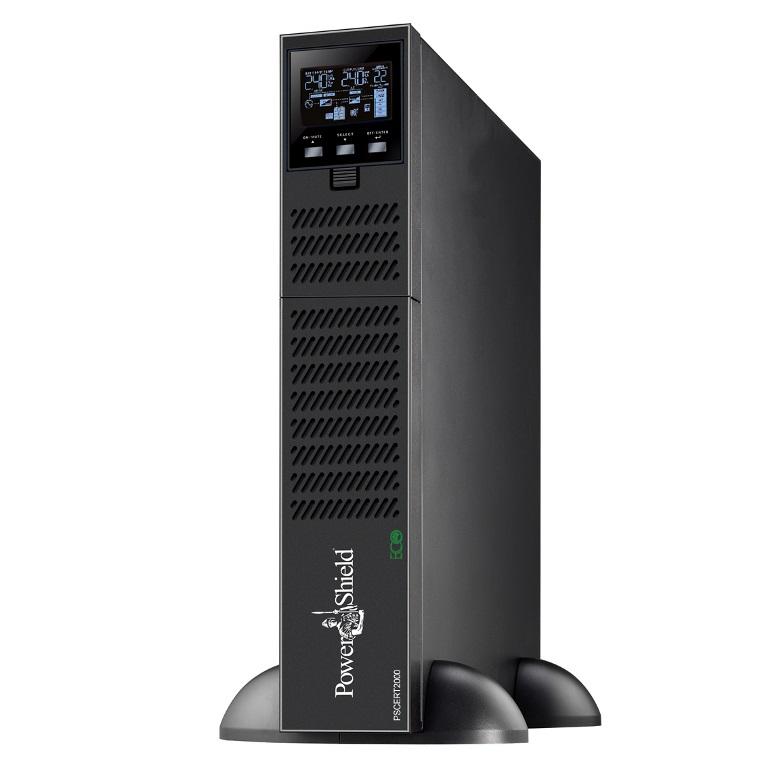 PowerShield, Centurion, RT, 2000VA, /, 1800W, True, Online, Double, Conversion, Rack, /, Tower, UPS, Programmable, outlets, Hot, swap, b,