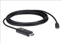 Aten, (UC3238-AT), Aten, USB-C, to, HDMI, 4K, 2.7m, Cable, supports, up, to, 4K, @, 60Hz, with, high, quality, cable,