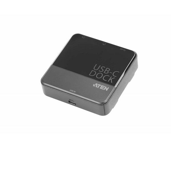 Aten, USB-C, Dual-View, Mini, Dock,