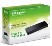 TP-Link, UH700, 7, Ports, USB3, Hub, Desktop, 2.5A, power, adapter,