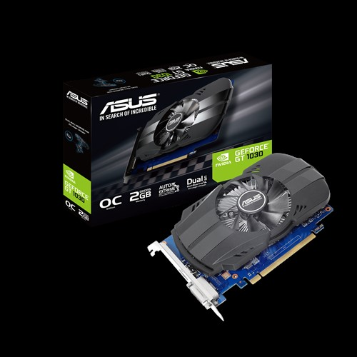 ASUS, nVidia, Phoenix, GeForce, GT1030, 2GB, OC, Edition, GDDR5, 1, Fan, 1xHDMI/1xDVI-D, 1531, Boost, NON-RGB,