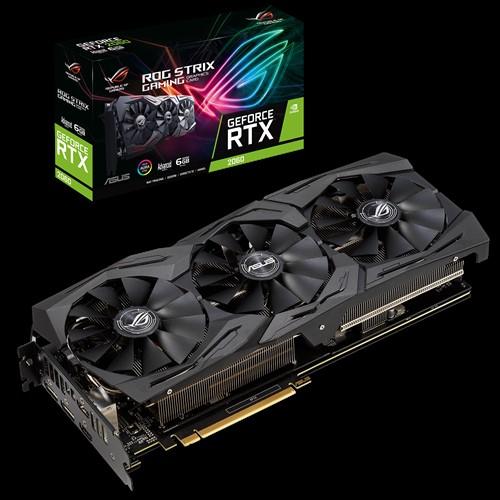 ASUS, nVidia, ROG-STRIX-RTX2060-A6G-GAMING, GeForce, RTX, 2060, Advanced, edition, 6GB, GDDR6, 3, Fans, 2xDP/2xHDMI, 1740, Boost, R,