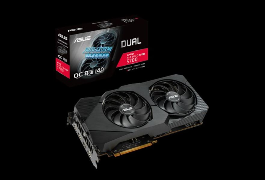 Asus, DUAL-RX5700-O8G-EVO, VGA,