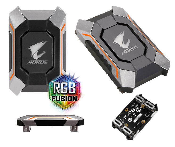 GIGABYTE, AORUS, RGB, SLI, HB, BRIDGE, 1, SLOT, SPACING, FOR, NVIDIA, GTX, 10, SERIES, GRAPHICS, CARD,