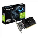Gigabyte, nVidia, Geforce, GT, 710, 2GB, DDR5, PCIe, Video, Card, 4K, 2xDisplays, HDMI, DVI, Low, Profile, Fan, 954MHz, ~GV-N710D3-2GL,