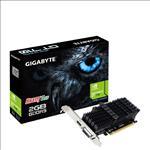 Gigabyte, nVidia, Geforce, GT, 710, 2GB, DDR5, PCIe, Video, Card, 4K, 2xDisplays, HDMI, DVI, Low, Profile, Heatsink, 954MHz, ~GV-N710D3-2G,