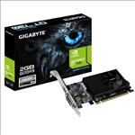 Gigabyte, nVidia, GeForce, GT, 730, 2GB, DDR5, Ultra, Durable, PCIe, Video, Card, 4K, HDMI, 2xDVI, 3xDisplays, Fan, 902Mhz, Low, Profile, Br,