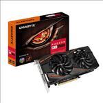 GIGABYTE, RADEON, RX570, PCIe, x16, 4GB, GDDR5, DVI, HDMI, 3xDP, GAMING, 3YR,