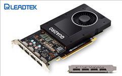 Leadtek, nVidia, Quadro, P2000, PCIe, Workstation, Card, 5GB, DDR5, 4xDP, 1.4, 4x5120x2880@60Hz, 160-Bit, 140GB/s, 1024, Cuda, Core, Sing,