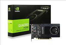Leadtek, nVidia, Quadro, P2200, PCIe, Workstation, Card, 5GB, DDR5, 4xDP, 1.4, 4x4096x2160@120Hz, 160-Bit, 200GB/s, 1280, Cuda, Core, Sin,