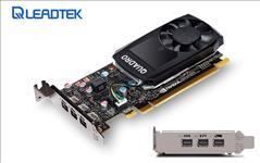Leadtek, nVidia, Quadro, P400, PCIe, Professional, Graphic, Card, 2GB, DDR5, 3xmDP1.4, 3x4096x2160@60Hz, 64-Bit, 32GB/s, 256, Cuda, Core,