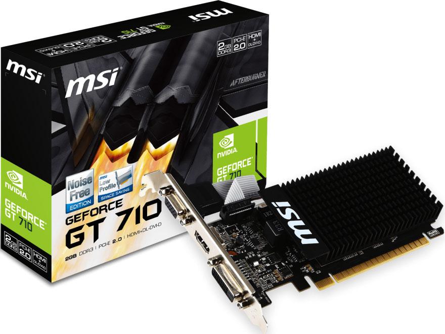 Msi, GT, 710, 2GD5, LP, NVIDIA, VGA,