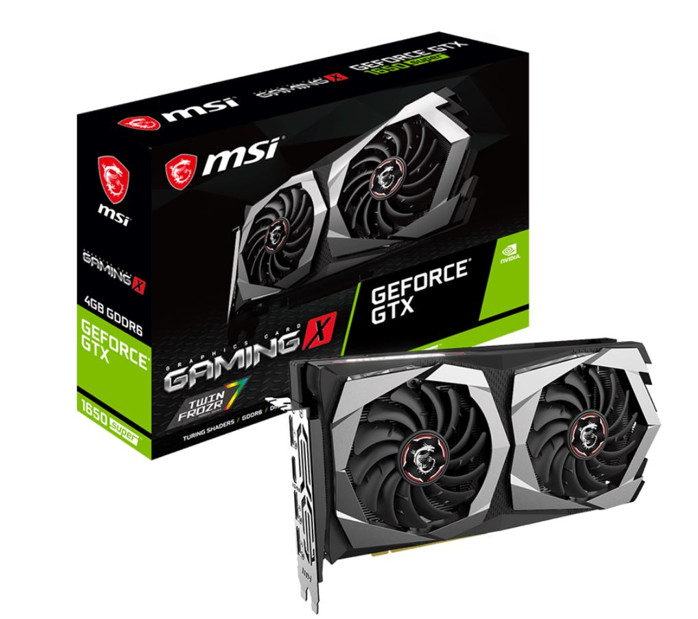 MSI, nVidia, Geforce, GTX, 1660, SUPER, GAMING, X, 4GB, GDDR6, 7680, x4320, 3xDP1.4, 1xHDMI2.0b, 1755, MHz, TORX, Fan, 3.0, G-SYNC, VR,