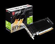 MSI, nVidia, Geforce, N730K, 2GD3H, Low, Profile, Video, Card, PCI-E, 2.0, 902, MHz, DDR3, 1x, DVI-D, 1x, VGA, 1x, HDMI, 1.4a,