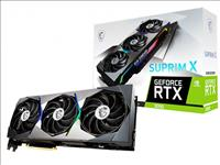 MSI, nVidia, Geforce, RTX, 3090, SUPRIM, X, 24GB, GDDR6X, 1875MHz, 7680, x, 4320, DisplayPort, x, 3, HDMI, 2.1, x, 1, G-SYNC®TECHNOLOGY,