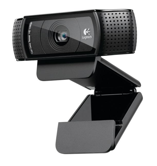 Logitech, C920, HD, Pro, Webcam, FHD, 1080p/H.264/Autofocus/15MP, LS-, VILT-C922,