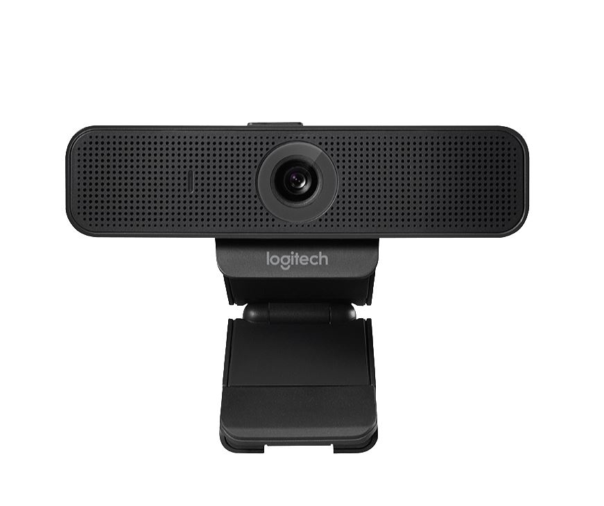 Logitech, C925e, Pro, Stream, Full, HD, Webcam, 30fps, at, 1080p, Autofocus, Light, Correction, 2, Stereo, Microphones, 78°, FoV, 3mths, X,
