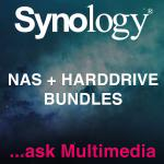 Synology, NAS, Starter, kit, for, a, Multimedia, Hub, -, DS418Play, (4Bay), x, 1, +, Seagate, IronWolf, ST4000VN008, 4TB, x, 4, NAS, Hard, Dri,