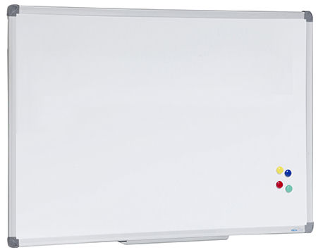 Visionchart, Corporate, Magnetic, Whiteboard, 2400, x, 1200mm,
