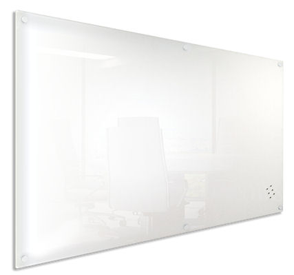 Visionchart, Lumiere, 900, x, 600mm, Magnetic, Glassboard, -, white,
