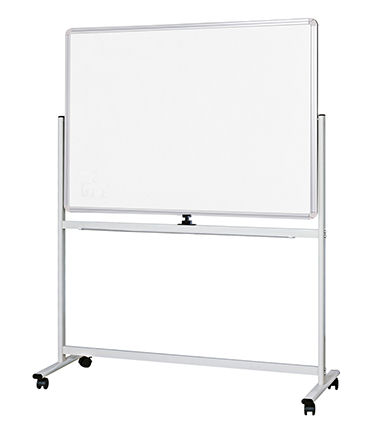 Visionchart, Mobile, and, Revolving, Magnetic, Whiteboard, 1200, x, 900mm,