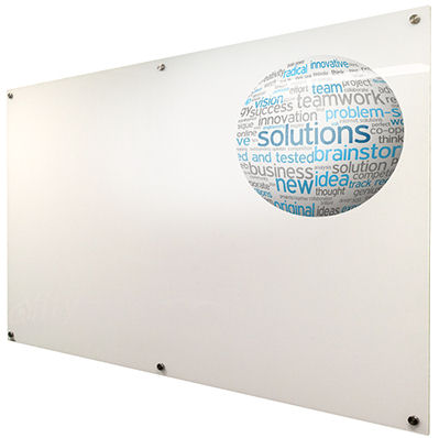 Visionchart, Coloured, Starphire, Premium, Glassboard, -, 900x900mm,